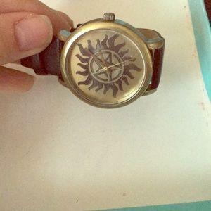 Supernatural watch worn once
